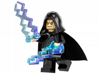 Lego Star Wars: Emperor Palpatine with Force Lightening - Minifigure